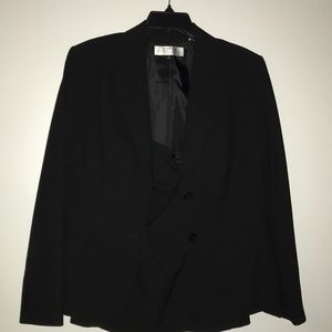 Black Tahari Skirt Suit